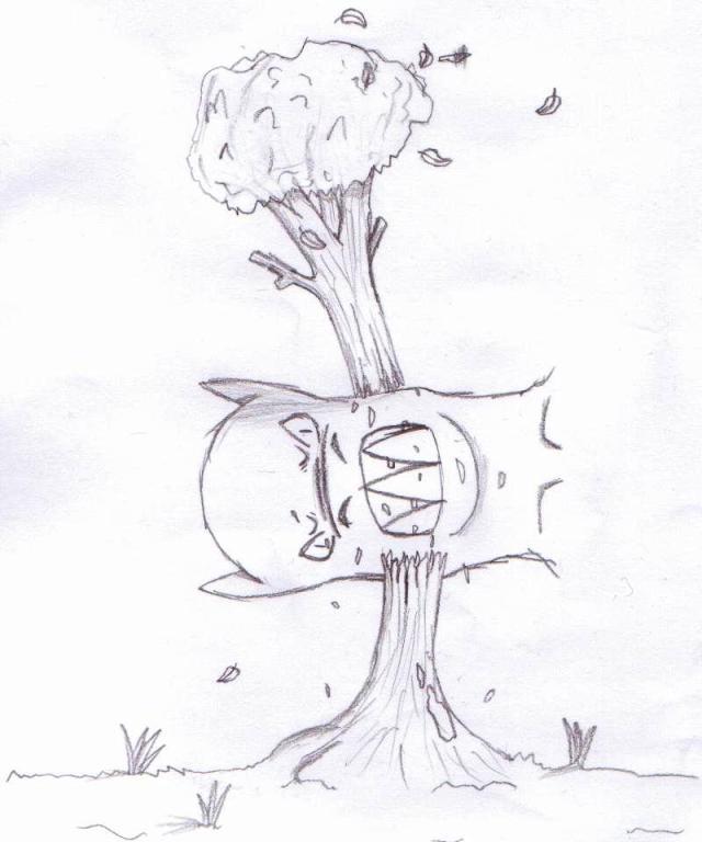 monstruo bosque